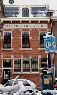 Tot Heil des Volks in de Willemsstraat