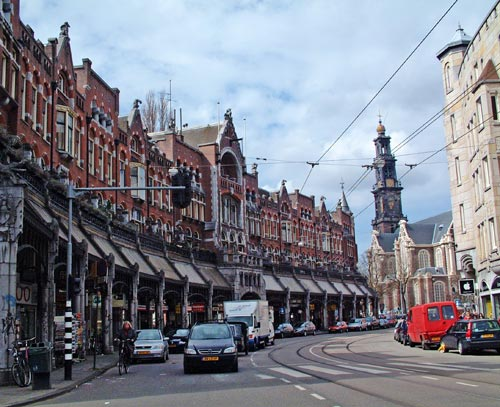 winkelgalerij in de raadhuisstraat in amsterdam